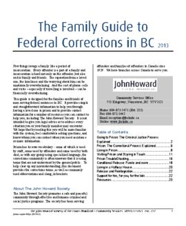 JHSLM-Family Guide to Federal Corrections in BC (English) 2013.pdf