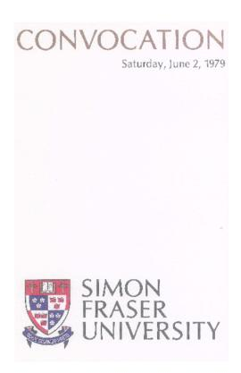 1979 June 2 convocation program