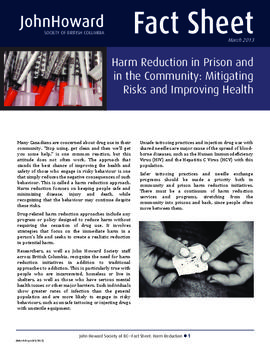 Harm Reduction in Prison and in the Community - Mitigating risks and improving health (2013).pdf