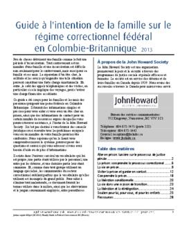JHSLM-Family Guide to Federal Corrections in BC (French) 2013.pdf