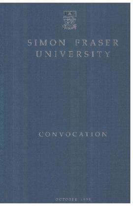 1990 Oct 12 convocation program