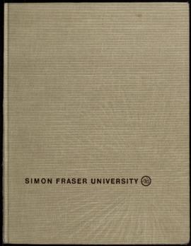 Simon Fraser University Yearbook 1965-66