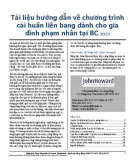 JHSLM-Family Guide to Federal Corrections in BC (Vietnamese) 2013.pdf