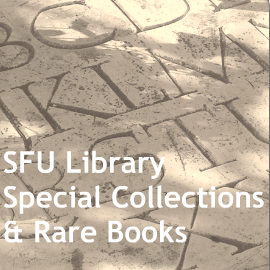 Go to Simon Fraser University Special Collections and Rare Books